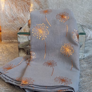 Dandelion Rose Gold Scarf